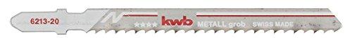 Preisvergleich Produktbild kwb 2x Stichsägeblätter für Metall 621320 (grob, Bi-Metall, Einnockenschaft, T127DF) u. a. für Einhell RT-JS 85