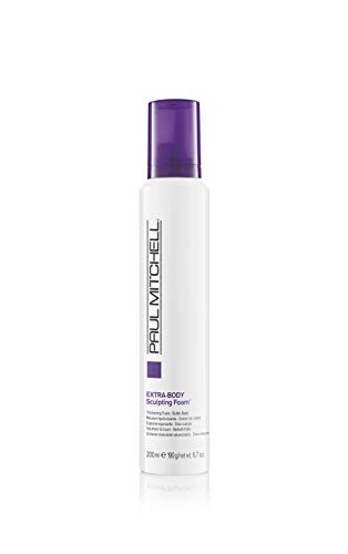 Paul Mitchell Extra-Body Sculpting Foam Schaumfestiger für mehr Volumen und Glanz, 1er Pack (1 x 200 ml)