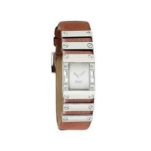 D&G Dolce&Gabbana DW0350 – Reloj analógico de mujer de cuarzo con correa de piel marrón
