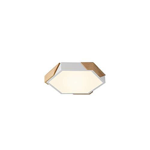 TopDeng Dimmbar LED 18 w Deckenleuchte Moderne Beleuchtung, 12 zoll Erröten-einfassung Deckenlampe Wohnzimmer Schlafzimmer Kinderzimmer Studie Decke-Warmes Licht-C 30x5cm