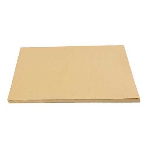 LIGHTBLUE Dicker Karton, Kartonverpackung aus Kunstdruckpapier, 100 Blatt, 80 g