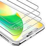 UNBREAKcable iPhone XS/X Panzerglas [3 Stück] Panzerglasfolie für iPhone XS/X, 9H Härte...