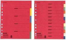 Preisvergleich Produktbild Falken Register DIN A4, 6 Blatt, farbig 80001993