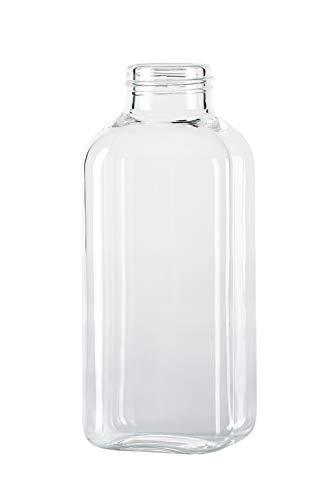 SQUIREME. Trinkflasche SQME-GLASSBOTTLE Ersatzflasche Transparent 500ml Preisvergleich