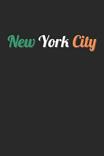 St. Patrick's Day Notebook - New York City Ireland Flag Irish St. Patrick's Day - St. Patrick's Day Journal: Medium College-Ruled Journey Diary, 110 page, Lined, 6x9 (15.2 x 22.9 cm) New York, New York City Flag