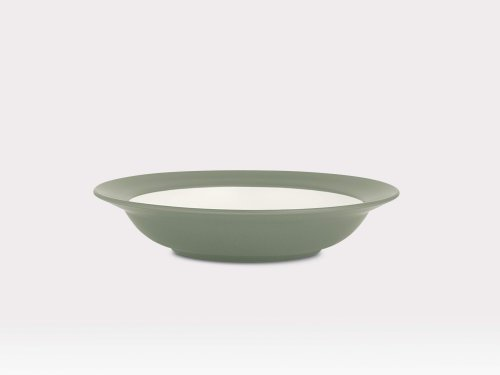 Noritake Colorwave Rim Soup/Pasta Bowl, Green, Set