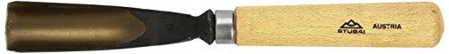 Stubai Stechbeil Form 10 + Heft scharostfrei geschliffen, SB Verpackung, 30 mm, 521030