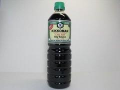 Kikkoman natürlich gebraute Sojasauce 43% weniger Salz Japan 1L Flasche