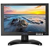 Eyoyo Ecran 10 Pouces IPS LCD FULL HD Moniteur Entree de HDMI BNC VGA USB et Haut-parleur intégré pour Videosurveillance FPV Vidéo Display DVD CCTV Security ( 1280 x 800 )