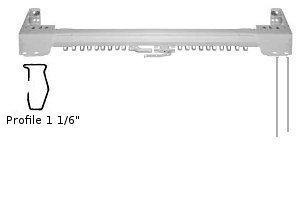 Superfine curtain rods 66-120\