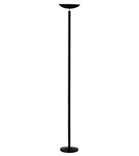 Unilux First Lampadaire Halogène 5060 Lumens à Variation d'intensité Lumineuse - Tube Halogène inclu 230W RS7 180 x 25 cm Noir