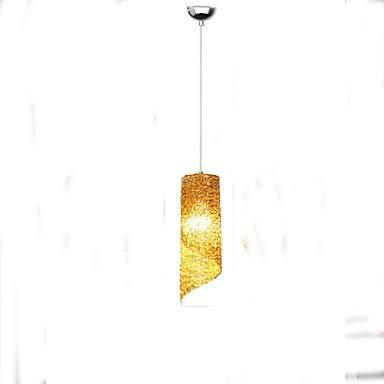SISHUINIANHUA 3-Licht Zylinder Pendelleuchten Deckenfluter Galvanisierung Metall LED 110-120V / 220-240V Wärm Weiß Glühbirne Nicht Inklusive / E26 / E27 -