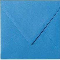 25 Briefumschläge 10,0 x 10,0 cm 100 x 100 mm Blau Verschluss: feuchtklebend Grammatur: 120 g/m² (100 Briefumschläge 10)