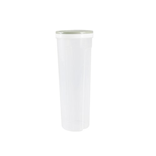 OUNONA Nudeln Container Aufbewahrungsbox Multifunktions-Kunststoff Lebensmittel Lagerung für Spaghetti Getreide Getreide Haferflocken Nüsse Bohnen (hellgrün)