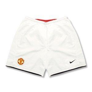 08-09 Man Utd home shorts - Kids