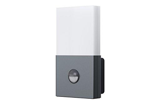 Osram LED Wandlampe, Noxlite, anthrazit, Bewegungsmelder, Dämmerungssensor, Außenleuchte, 6 Watt, Kaltweiß 4008321960979