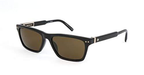 Montblanc Herren Mont Blanc Sunglasses Mb694S 01J-56-17-145 Sonnenbrille, Schwarz, 56