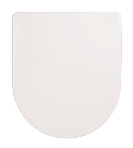 SITZPLATZ - 40131 9 - WC Sitz Deluxe in Weiß - Toilettensitz aus Duroplast - WC Brille mit Absenkautomatik - Toilettendeckel mit Top-Fix & Take-Off -
