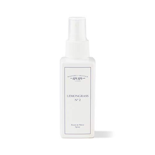 Luxuriöses Lemongrass Zimmer & Kissen Schlummer-Spray für Schlaf, Entspannung und Schlaflosigkeit (groß 120ml) von Masters of Mayfair