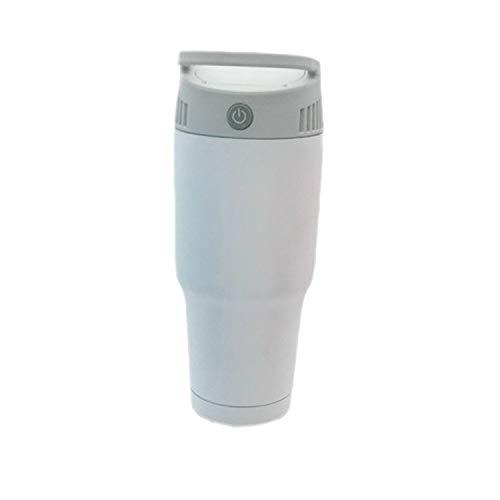 QINZIXIA EU Nouveau Mini Portable Air climatisé radiateur de Chauffage de la Salle de Chauffage Plus Froid Ventilateur Chaud (Color : White)