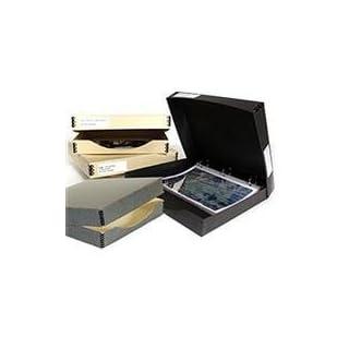 Archival Methods Three Ring Binder Box 12.25 x 13.25 x 1.5, Gray