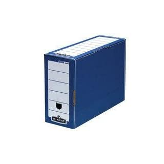 Bankers Box Blue Premium Transfer Files [Pack of 10]