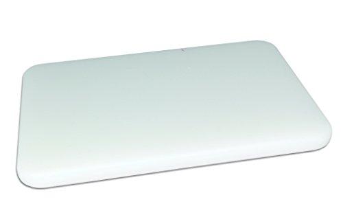 Jocca Tabla de Cortar de Polietileno, Blanco, 40x30x2 cm