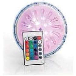 Manufacturas Gre PLED1C - Proyector LED color para piscina elevada de acero