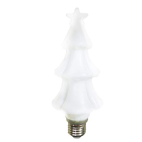 E27 Navidad, Decoration LED Bombilla Lindo PC Dormitorio Festivo Brillante Fiesta en casa Colores cambiantes interiores (Casa Para Luces De La Navidad)