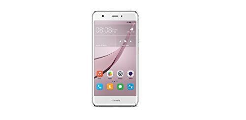 Huawei 51090UAU nova Smartphone (12,7 cm (5 Zoll), 32GB, Dual-SIM, 12 Megapixel Kamera, Android) mystic silber