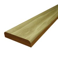 Solid Oak Door Threshold - 95mm x 850mm (Unfinished, 15mm Thickness)