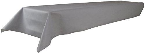 Sensalux Tischdecke, Öko-Tex 100, abwaschbar, (Farbe + Größe wählbar), grau, 1,2m x 2,5m,...