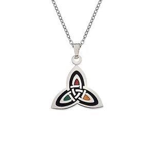 Sea Gems-Halsband mit keltischem Trinity-Knoten-Design