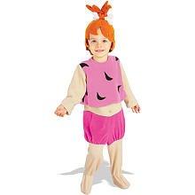 The Flintstones Pebbles Kostüm Kinder Kinderkostüm Babykostüm Feuerstein Gr T-M, Größe:S