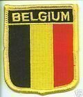 Belgium Flag Embroidered Patch (Belgio Flag Patch)