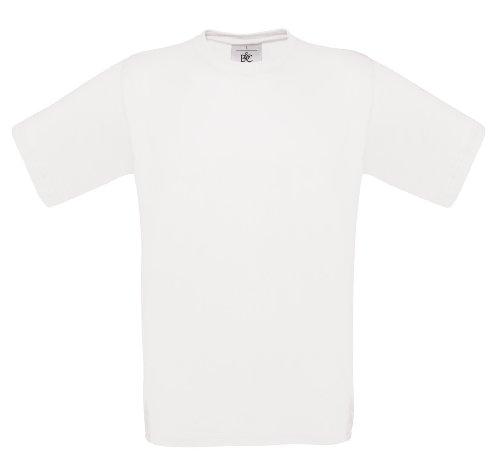 BCTU002 T-Shirt Exact 150 Herren Damen White