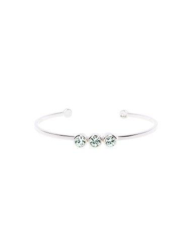Karen-Millen-Mint-Crystal-Dot-Cuff