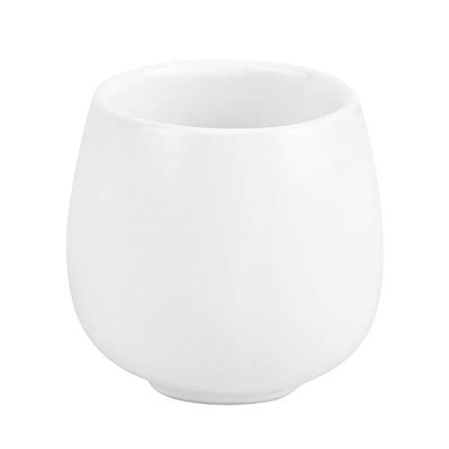 Table Passion - Gobelet bollo blanc mat 20 cl (lot de 2)
