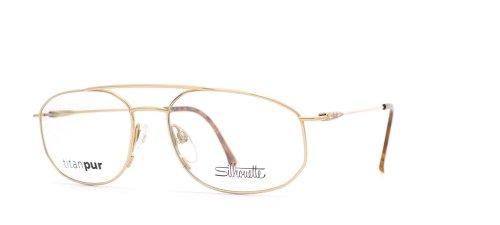 Preisvergleich Produktbild Silhouettes Herren Brillengestell Gold Gold