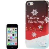 Jujeo Santa Claus Muster Glatte Oberfläche Kunststoff Schutzhülle für iPhone 5C, Umständen Verpackung-Multi Farbe (Telefon C Santa)
