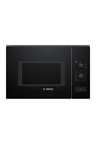 Bosch Serie 4 BFL550MB0 micro-onde Intégré - Micro-ondes (Intégré, Micro-ondes uniquement, 25 L, 900 W, boutons, Rotatif, Noir)