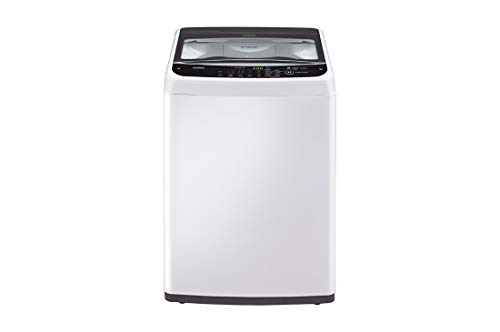 LG 6.2 kg Fully-Automatic Top Loading Washing Machine (T7288NDDL, ABWPEPL, Middle Free Silver)