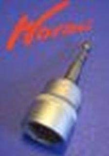 Sardines à visser - Holly® produits Stabielo® - 24 mm Noix Adaptateur Machine - wurmi® Adaptateur à vis pour 24 mm de Gross en aluminium wurmi - Sardines à visser - Piquets - Produits de wurmi pour tente de camping de Caravane de loisirs Outdoor --Holly produits Stabielo® - Innovations fabriqué en Allemagne - Holly-Sunshade®