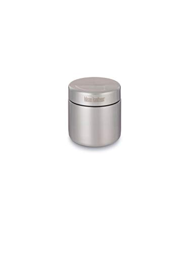 Klean Kanteen Lebensmittelbehälter 473 ml Food Canisters Single-Wall, Brushed Stainless, 8020092 (Glas Auslaufsichere Behälter)