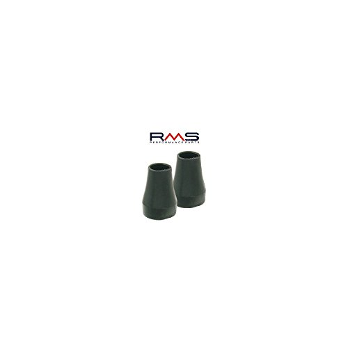 Preisvergleich Produktbild All Stand Feet Rubber for Vespa PX PK T5 Cosa Ø 22 mm,  Black