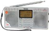 Tecsun PL-390 DSP Digital AM/FM/LW Shortwave Radio with Dual Speakers Silver