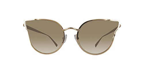 Max Mara Mmildeiii-000-57 Damen Sonnenbrille, Gold, 57