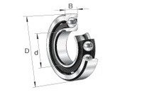 Fag 7313-b-mp-ua Angular Contact Ball Bearing