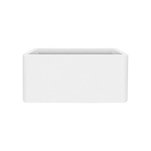 Elho 3.48391e+12 fioriera, bianco, 79 x 39 x 39 cm