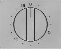Hager 16347104 interruptor de luz Acero inoxidable - Interruptores de luz (Acero...